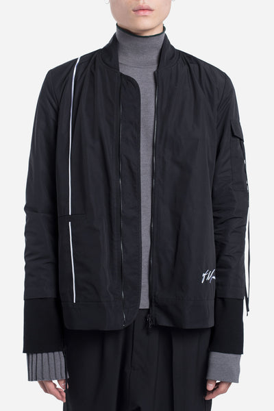 Seven Seconds of Memory - Fort Oversized Bomber Dry Onyx