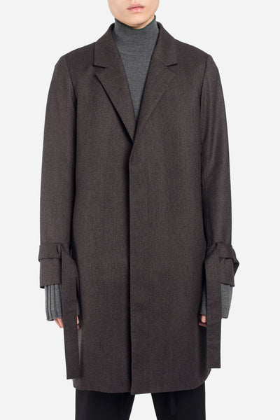 Seven Seconds of Memory - Polar Strap Coat Vintage Brown