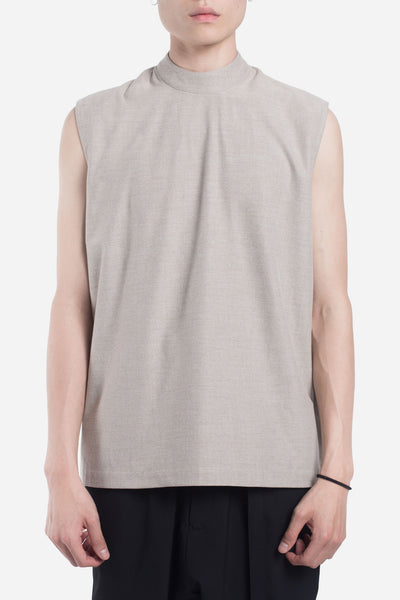 Seven Seconds of Memory - Jess Mock Zip Tank Moonstone Grey