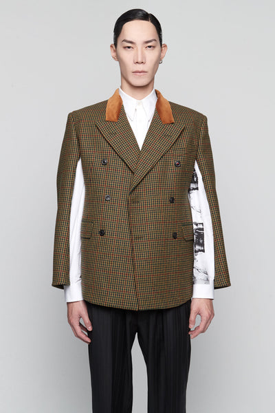 Maison Margiela - Boxy Suit Jacket Multicolor