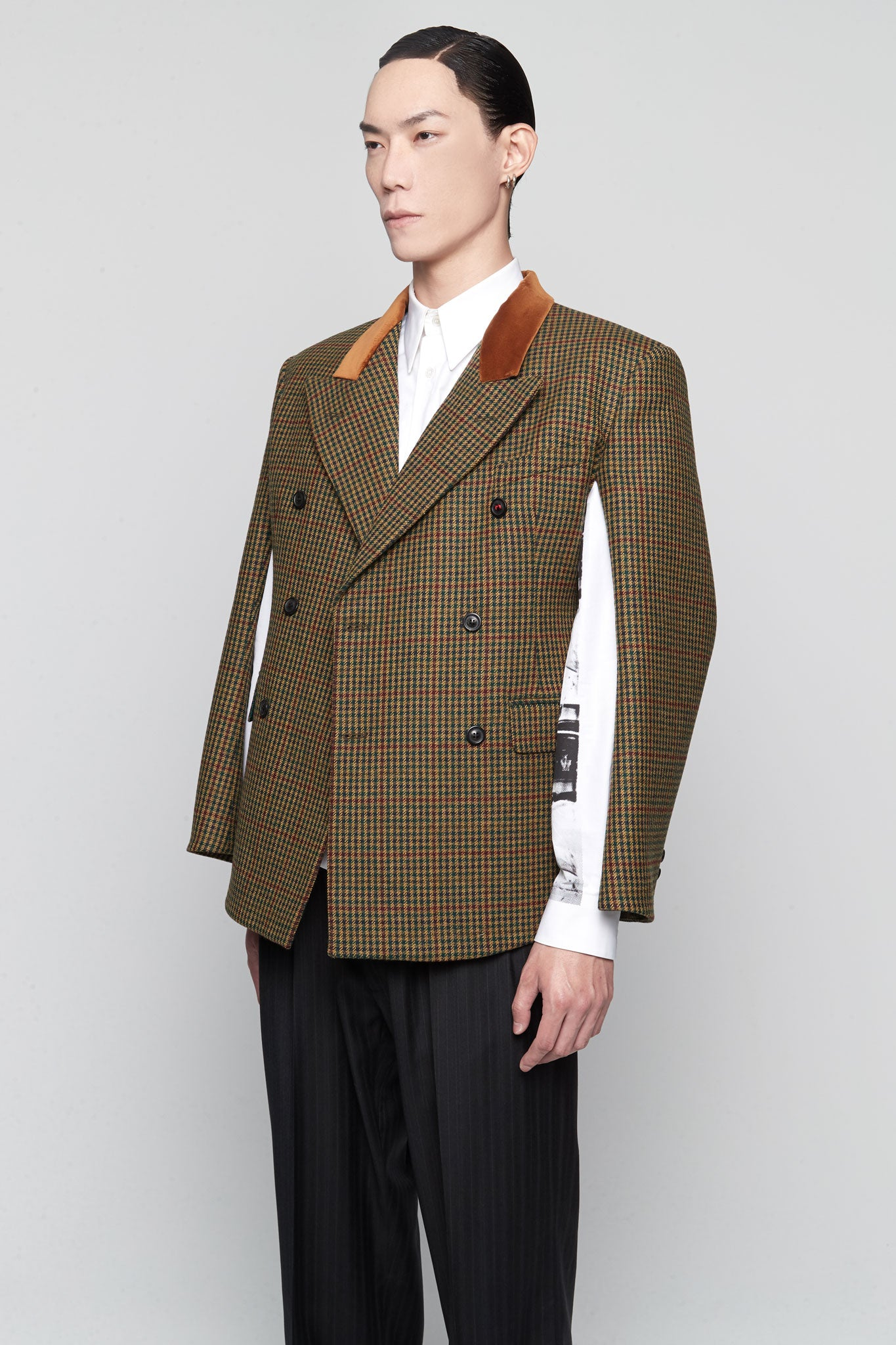 Boxy Suit Jacket Multicolor