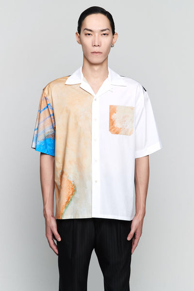 Marni - Kiss Print S/S Shirt Betsy Kiss White