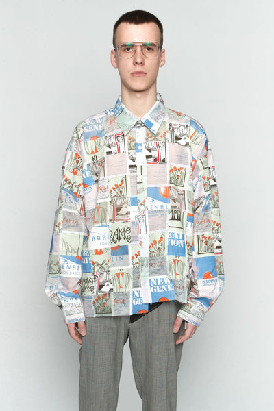 Martine Rose - Patchwork Flyer Shirt Shirt-multi