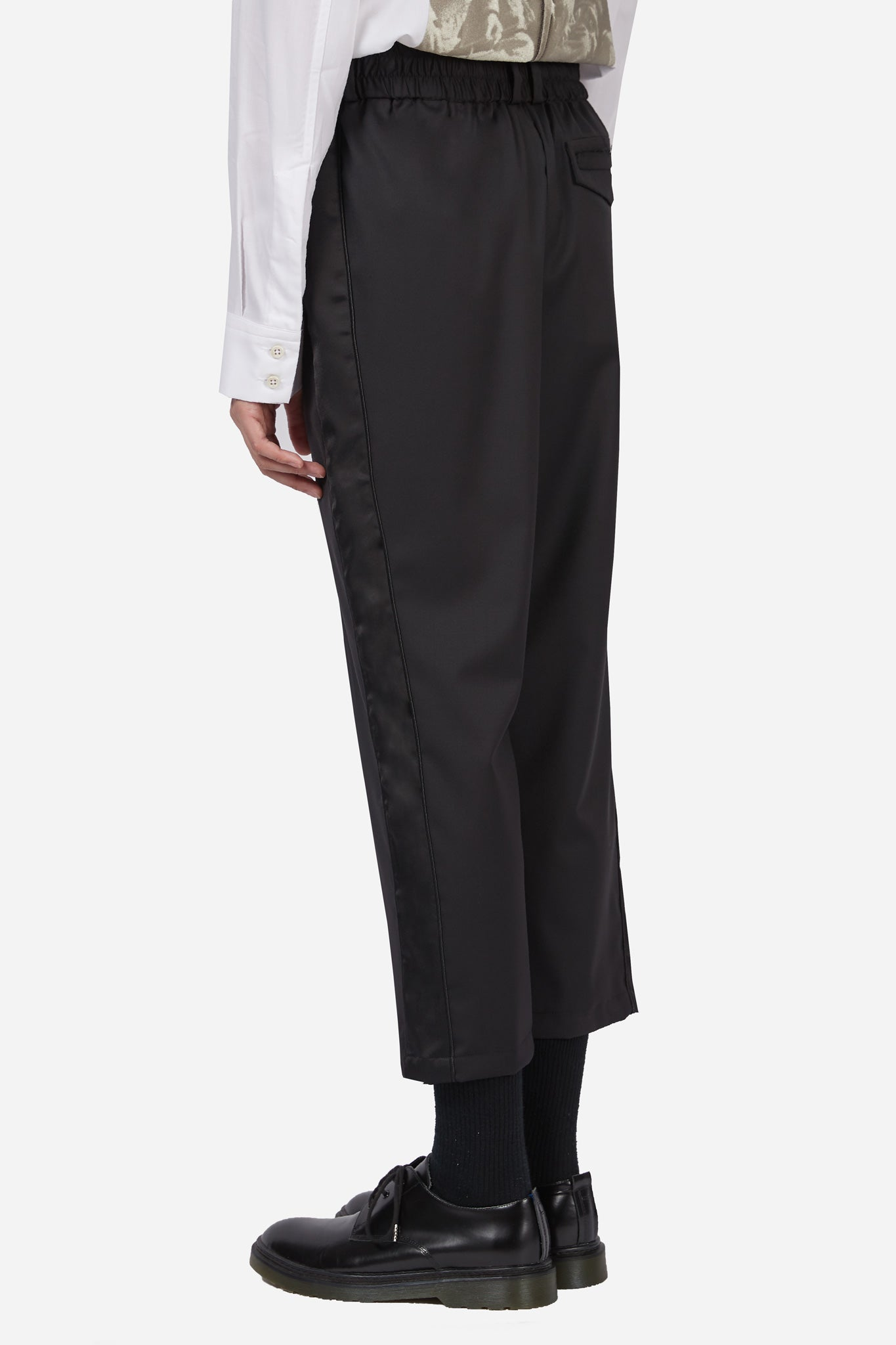 Mich Paradise Cropped Trouser Dry Onyx + Polished Dry Onyx