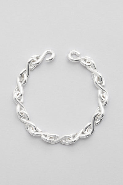 all blues - S Bracelet Polished Silver