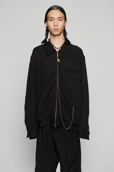 Song for the mute - Coach Jacket Black