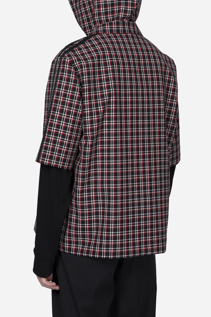 Didas SS Single Breast Suit Pepper Black Plaid