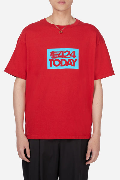 424 - Red 424 Today SS T-Shirt