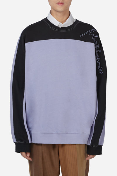 Martine Rose - Collapsed Crewneck Lavender
