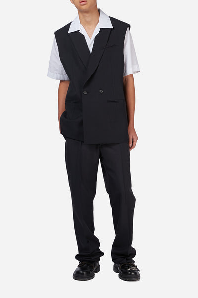 Black Suiting Vest