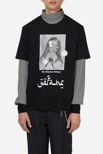 Undercover - Black Female Arabic Script Tee