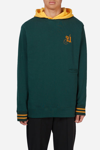 Undercover - Green Script Football Crewneck