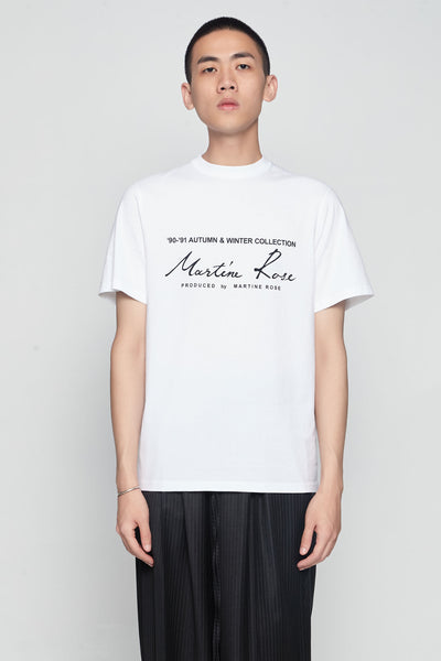 Martine Rose - Classic Short Sleeve T-shirt White
