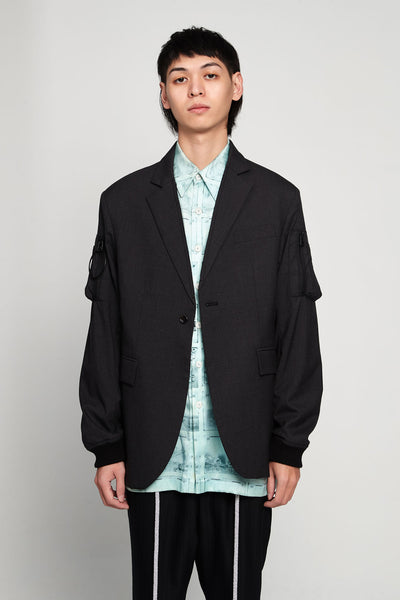 Komakino - Tailored Jacket Grey