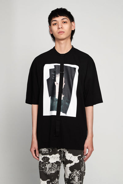 Komakino - Relaxed Fit Jersey T-shirt Crash Black