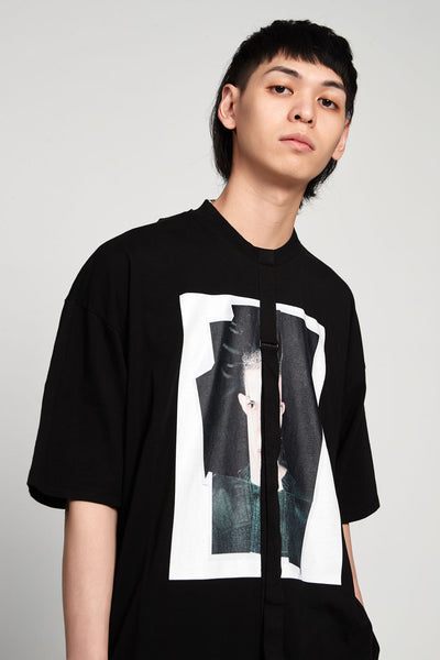 Relaxed Fit Jersey T-shirt Crash Black