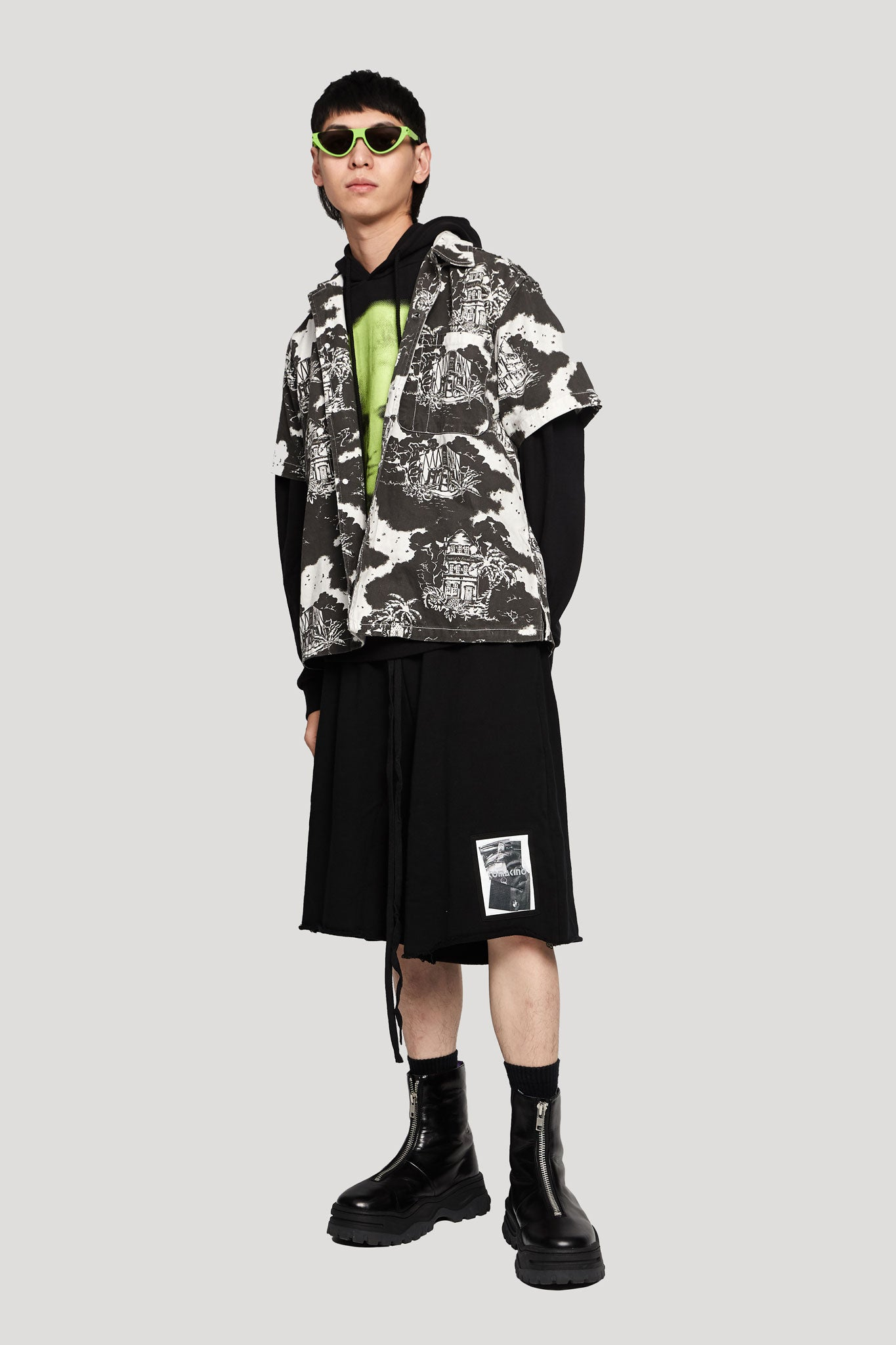 Fleece Shorts Bm Black