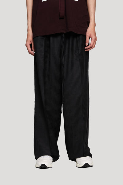 Komakino - Tailored Trousers Grey Pinstripe