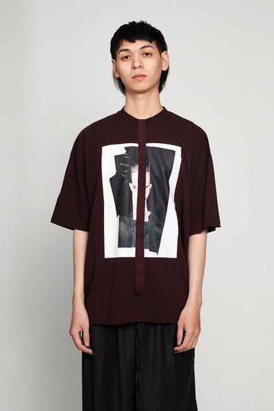 Komakino - Relaxed Fit Jersey T-shirt Crash Cherry B.