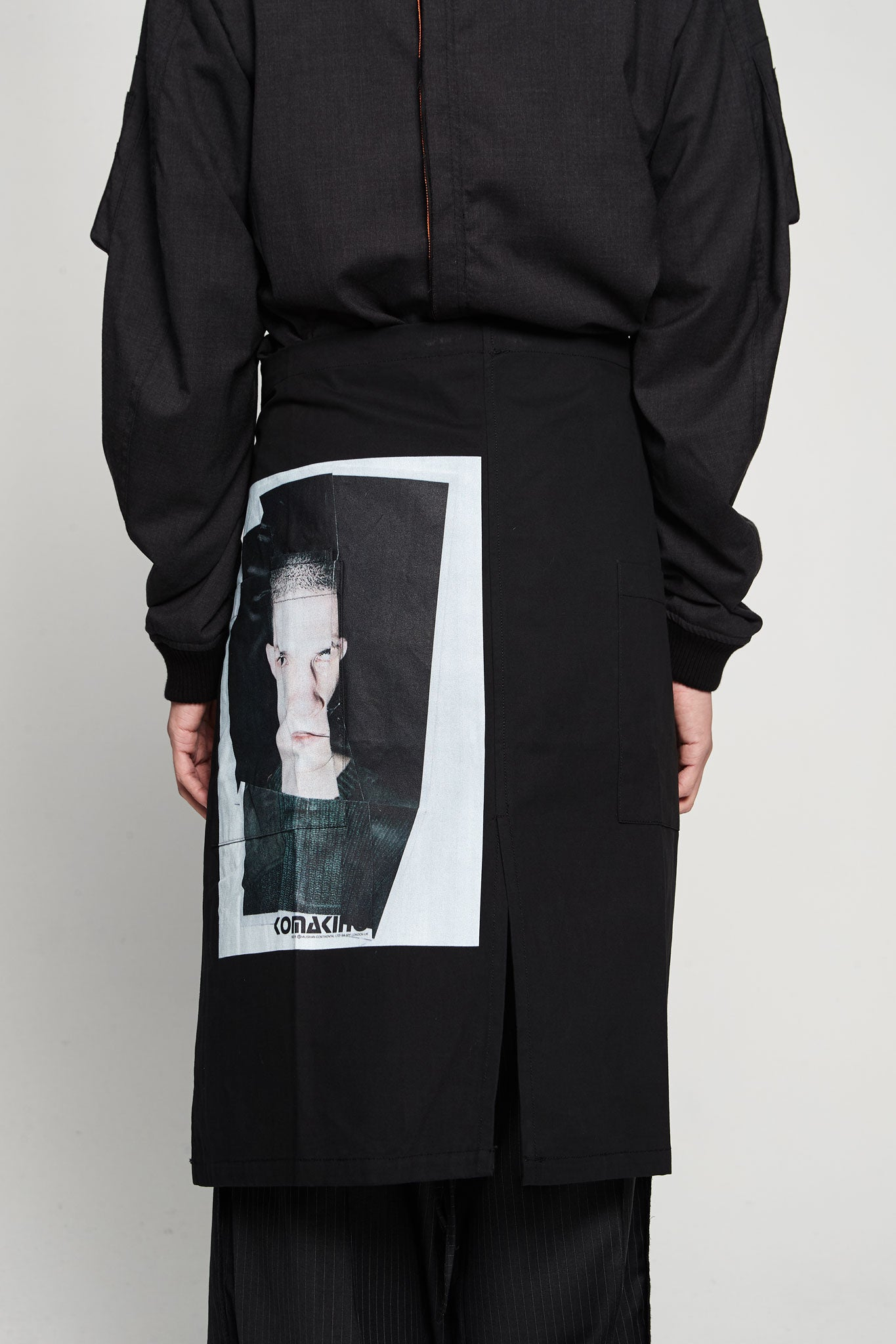 Crash Apron Black