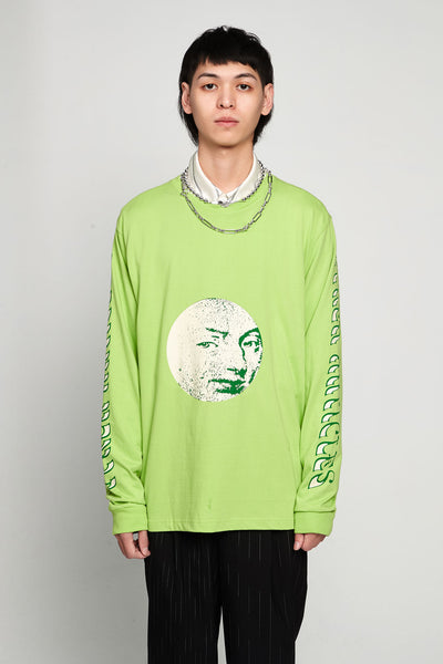 Vyner Articles - Fantasy Tour Print Long Sleeves T-shirt Jersey Green