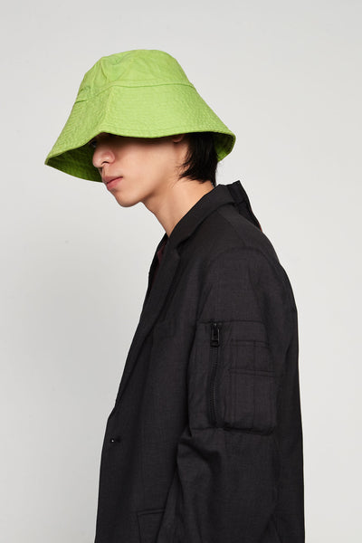 Vyner Articles - Bucket Hat Canvas Green