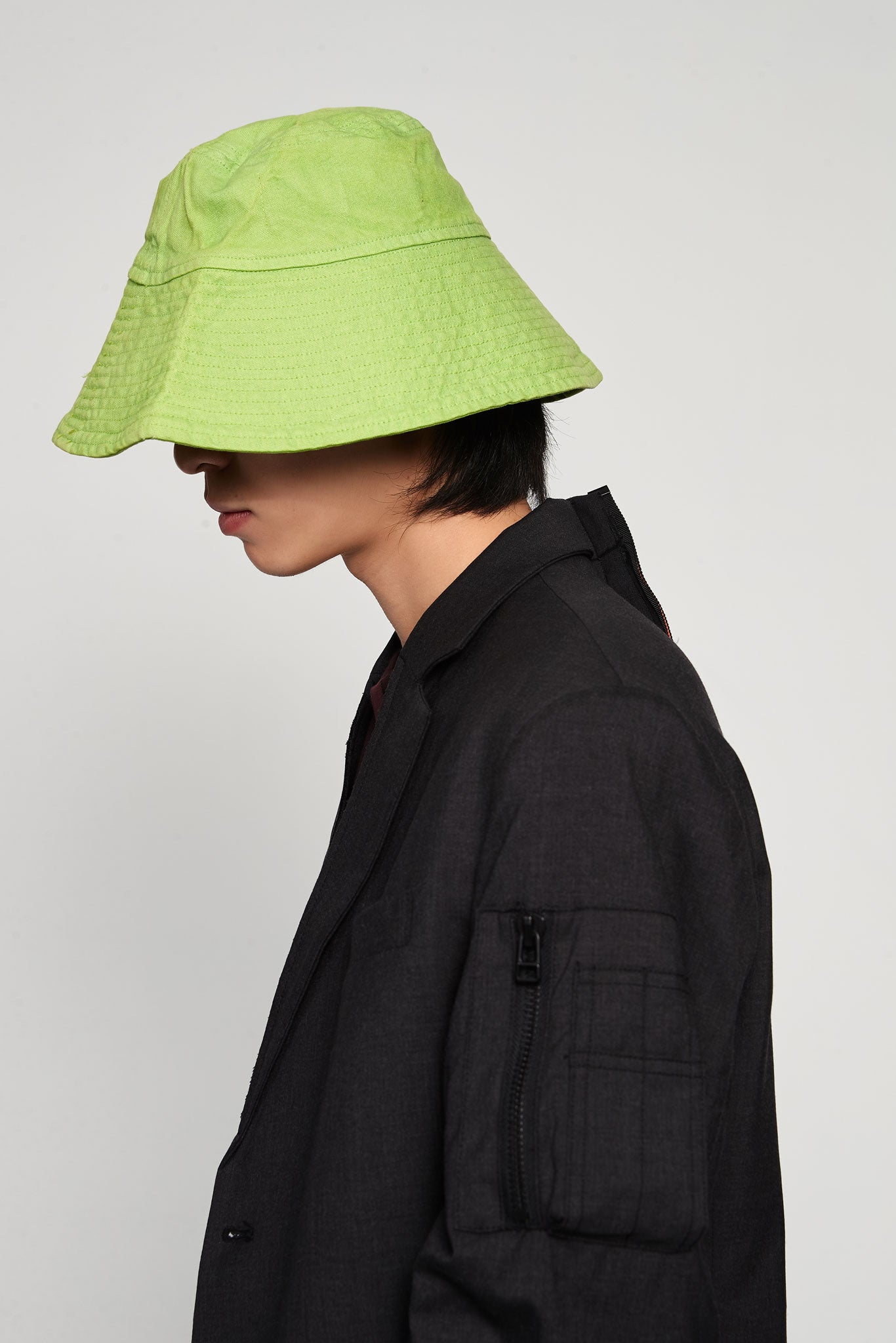 Bucket Hat Canvas Green