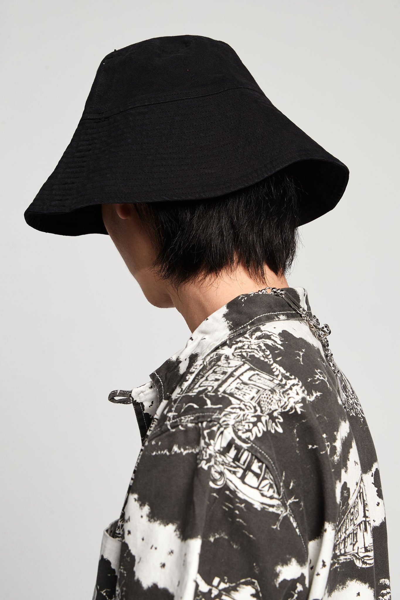 Bucket Hat Canvas Black