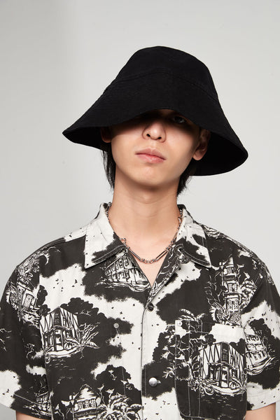 Vyner Articles - Bucket Hat Canvas Black
