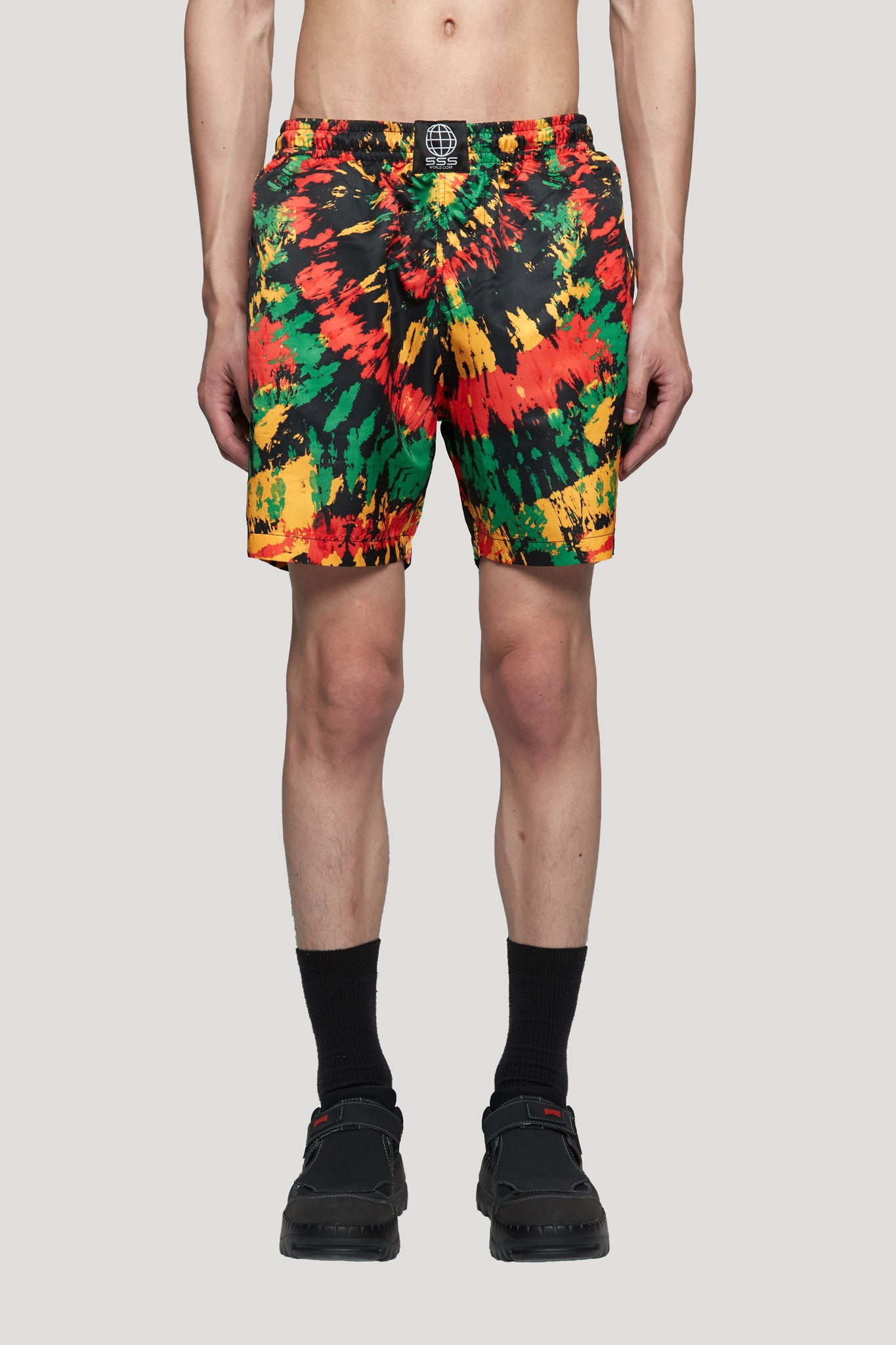 Swim Short Black Multi