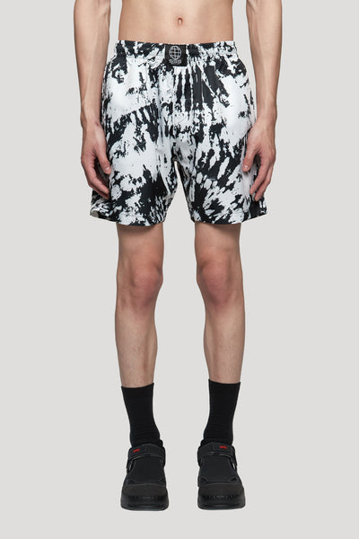 SSS World Corp - Swim Short Black/White