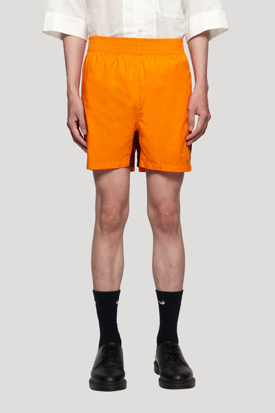 Wales Bonner - Football Short Marigold/Burgundy