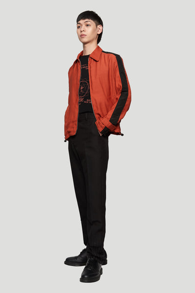 Zip-up Blouson RUST