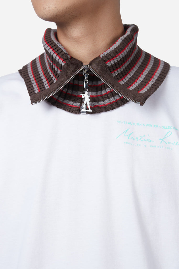 Brown Striped Neckband