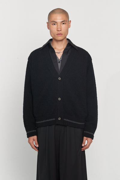 Closed Window - Kurt Layered Cardigan Dry Onyx