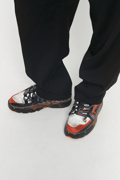 Maison Margiela - Fusion Low Top Orange Black