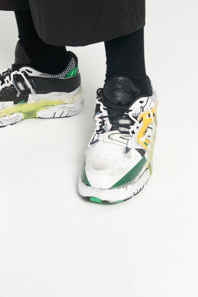 Maison Margiela - Fusion Low Top Yellow Green