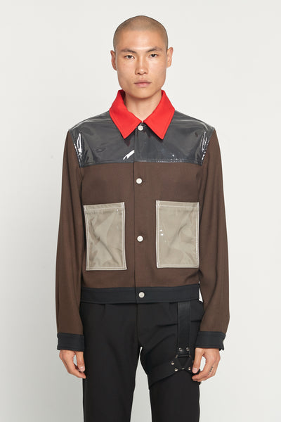 Maison Margiela - Techno Gabardine Chocolate