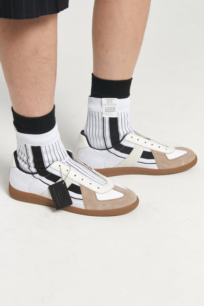 Repelica Sock High Top White Black