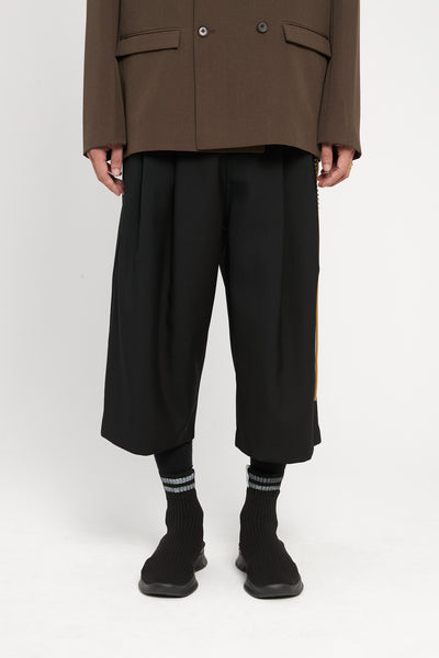 Song for the mute - Gabardine Bucket Pants Black