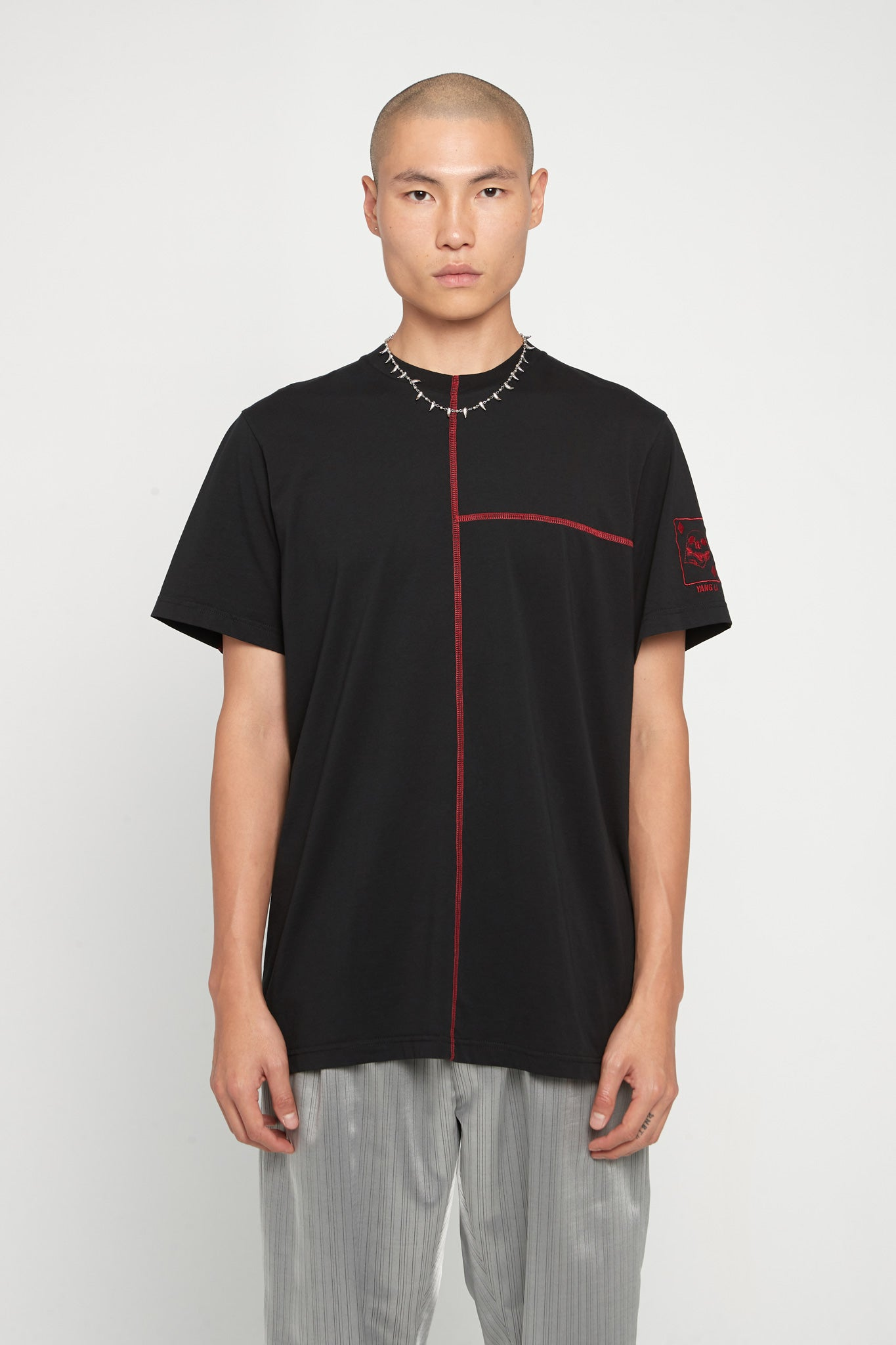 Overlock T-Shirt Black