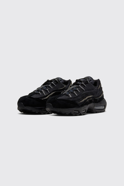 CDG Air Max 95  Black-Black