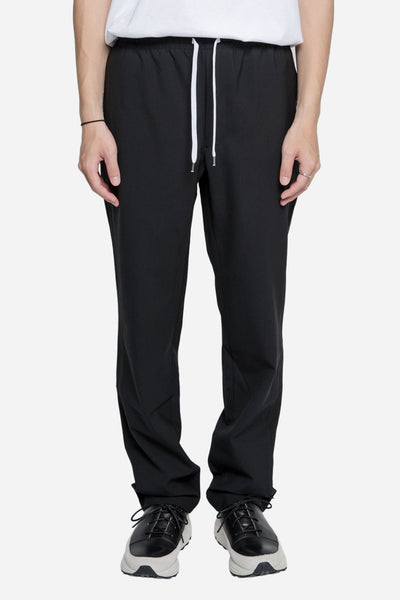Second / Layer - Elastic Waist Trouser Black