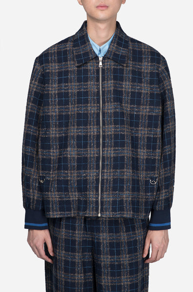 Pressured Paradise - Seth Unity Jacket Royal Lake Mixed Plaid