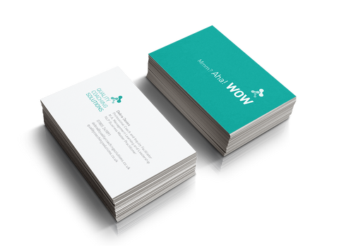 400 gsm Unlaminated Business Cards 85mm x 55mm