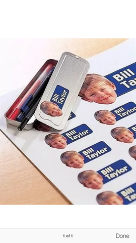 Self Adhesive Labels Any Shape or Size