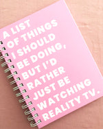 LIST OF THINGS. NOTEBOOK