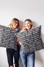 GIRLS II. PILLOW COVER