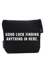 good luck. large zip bag