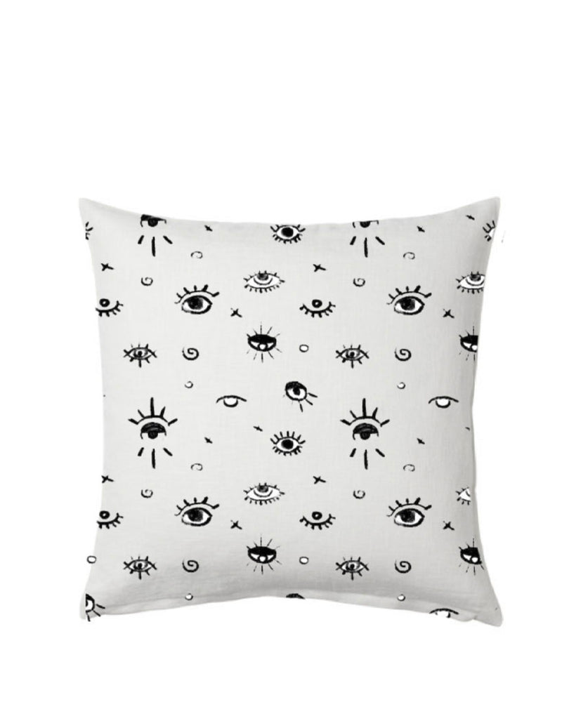 EYE SEE YOU. PILLOW COVER